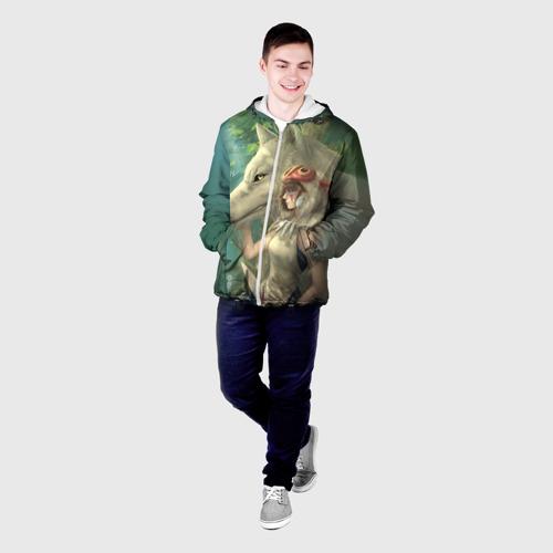 Мужская куртка 3D  Фото 03, Принцесса и волк