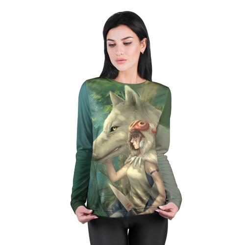 Женский лонгслив 3D для беременных  Фото 04, Принцесса и волк