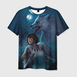 Мононоке с волком