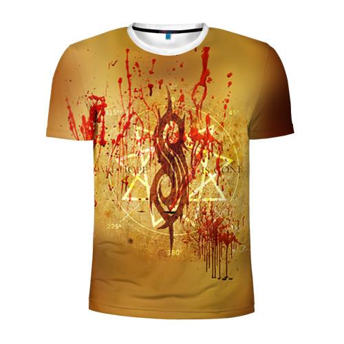 Мужская футболка 3D спортивная  Фото 01, Slipknot