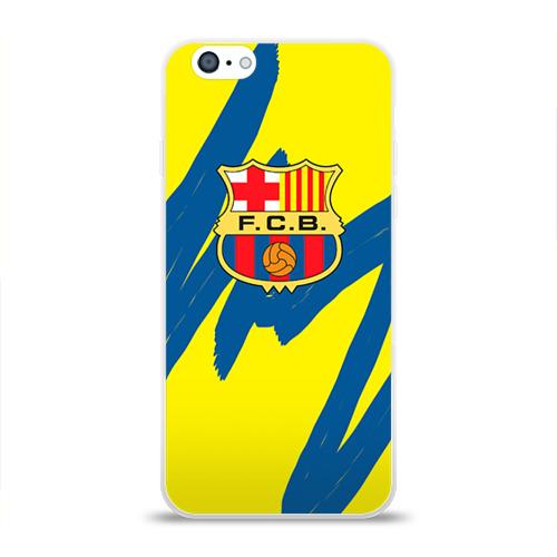 Чехол для Apple iPhone 6 силиконовый глянцевый Барселона Фото 01