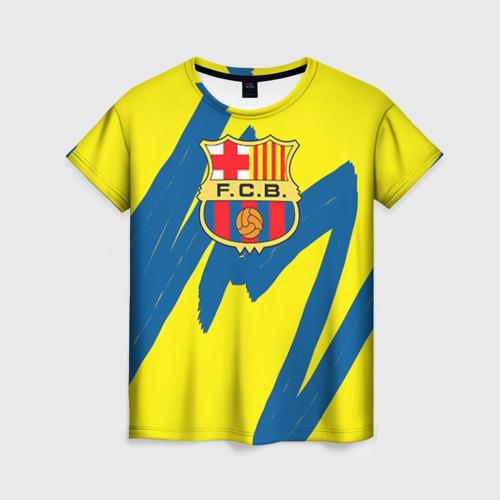 Женская футболка 3D Барселона от Всемайки