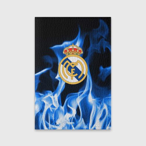 Обложка для паспорта матовая кожа  Фото 01, Real Madrid