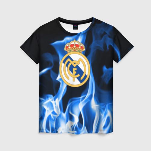 Женская футболка 3D Real Madrid от Всемайки