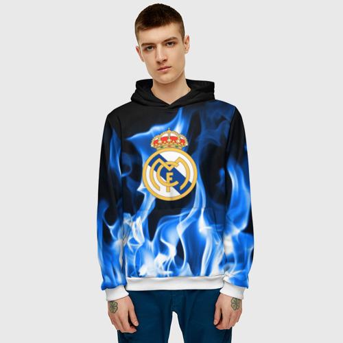 Мужская толстовка 3D Real Madrid Фото 01