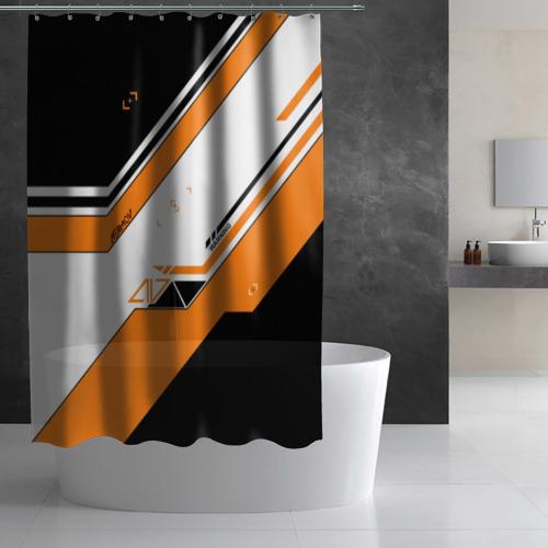 Штора 3D для ванной Asiimov Фото 01