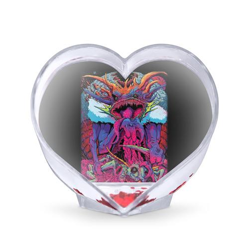 Сувенир Сердце Hyper Beast от Всемайки