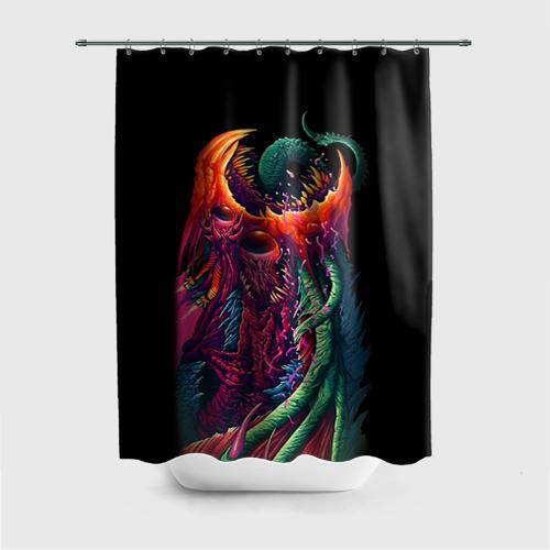 Штора для ванной Hyper Beast 1 от Всемайки
