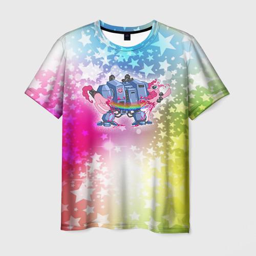 Мужская футболка 3D  Фото 03, Месть дредноута