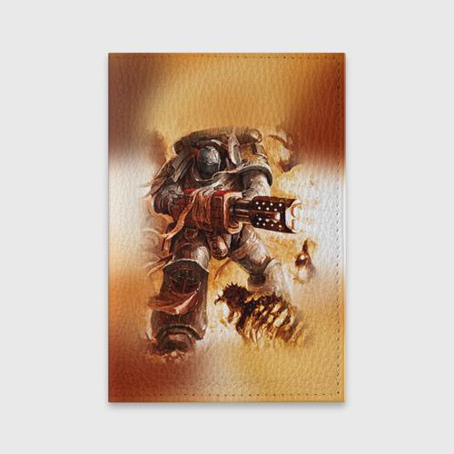 Обложка для паспорта матовая кожа  Фото 01, Серый рыцарь
