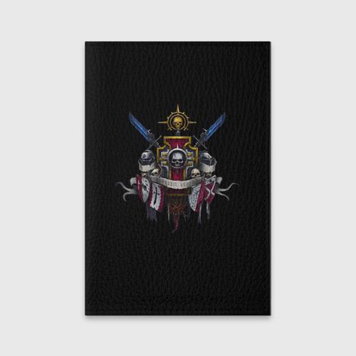Обложка для паспорта матовая кожа  Фото 01, Daemonium venatores