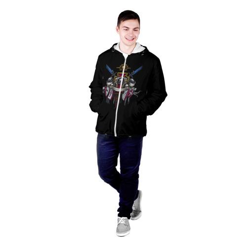Мужская куртка 3D  Фото 03, Daemonium venatores