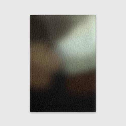 Обложка для паспорта матовая кожа  Фото 02, Титан
