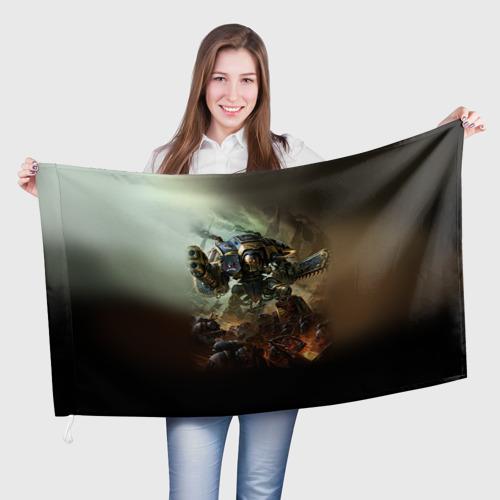 Флаг 3D Титан Фото 01