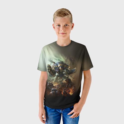 Детская футболка 3D Титан