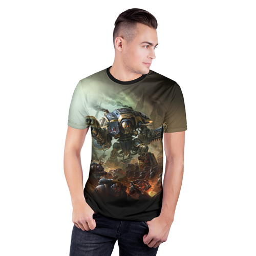 Мужская футболка 3D спортивная Титан Фото 01