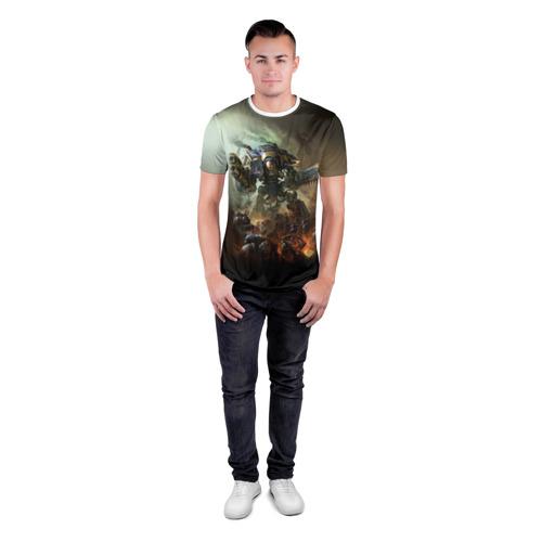 Мужская футболка 3D спортивная  Фото 04, Титан