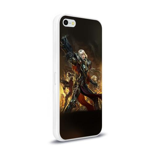 Чехол для Apple iPhone 5/5S силиконовый глянцевый  Фото 02, Adepta Sororitas