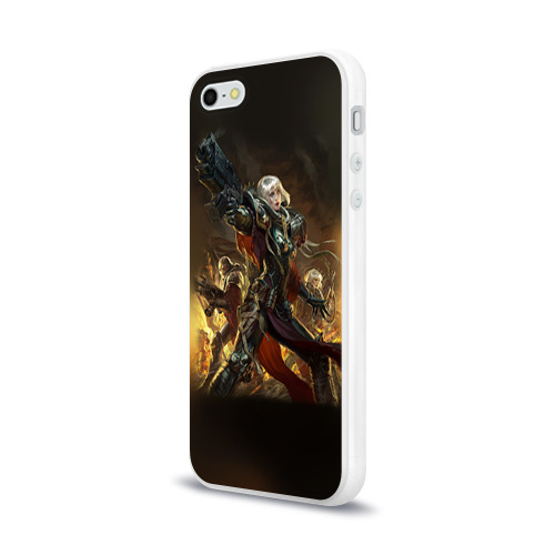 Чехол для Apple iPhone 5/5S силиконовый глянцевый  Фото 03, Adepta Sororitas