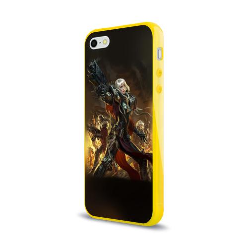 Чехол для Apple iPhone 5/5S силиконовый глянцевый Adepta Sororitas Фото 01
