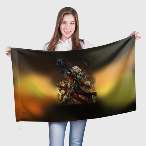 Флаг 3D Adepta Sororitas Фото 01