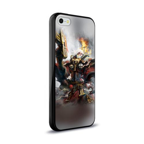 Чехол для Apple iPhone 5/5S силиконовый глянцевый  Фото 02, Сестры битвы