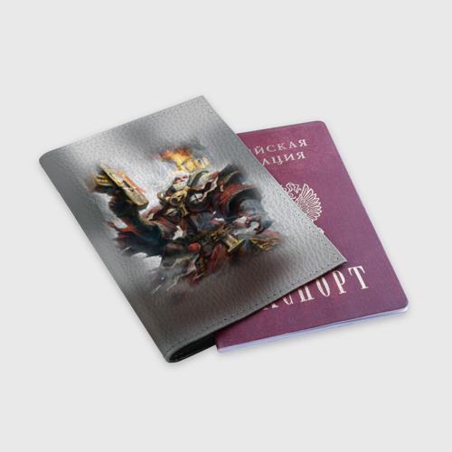 Обложка для паспорта матовая кожа  Фото 03, Сестры битвы