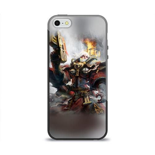Чехол для Apple iPhone 5/5S силиконовый глянцевый  Фото 01, Сестры битвы