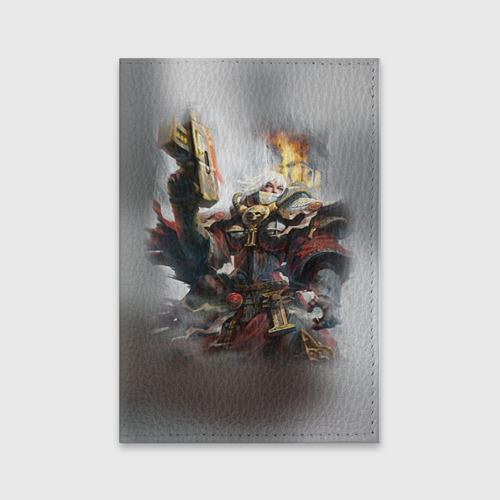 Обложка для паспорта матовая кожа  Фото 01, Сестры битвы