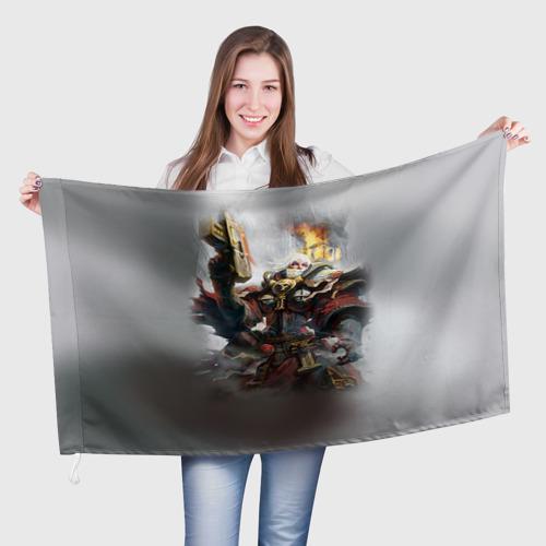 Флаг 3D Сестры битвы Фото 01