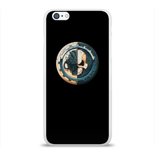 Чехол для Apple iPhone 6Plus/6SPlus силиконовый глянцевый  Фото 01, Adeptus Mechanicus