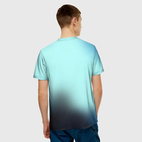 Мужская футболка 3D  Фото 02, Серый рыцарь