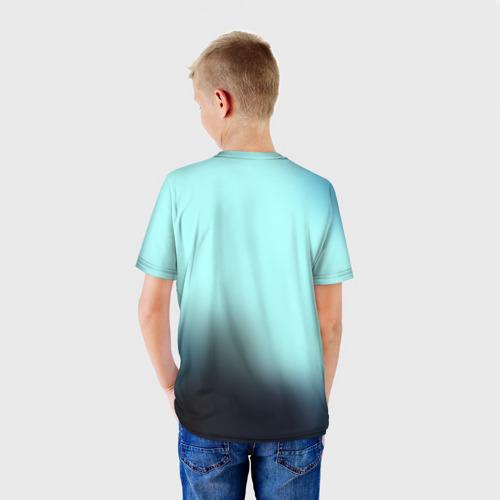 Детская футболка 3D Серый рыцарь Фото 01