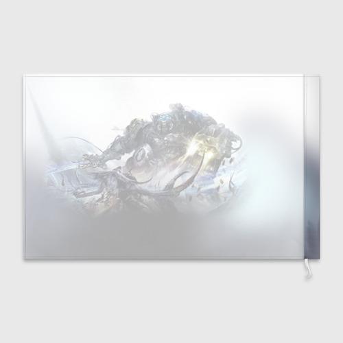 Флаг 3D Терминатор Фото 01