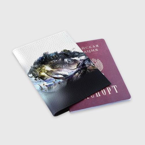 Обложка для паспорта матовая кожа  Фото 03, Терминатор