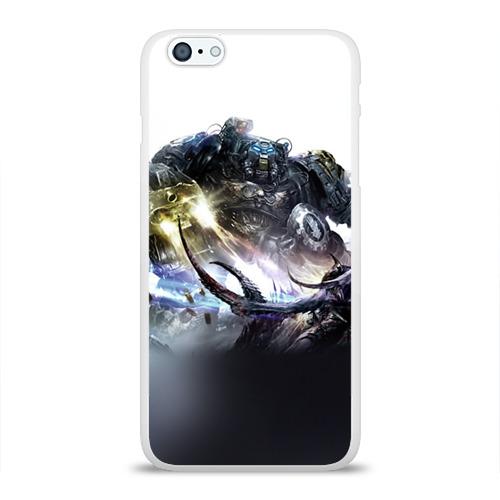 Чехол для Apple iPhone 6Plus/6SPlus силиконовый глянцевый  Фото 01, Терминатор