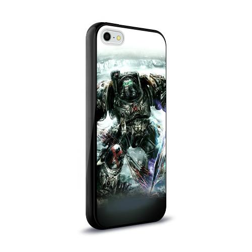 Чехол для Apple iPhone 5/5S силиконовый глянцевый Терминатор Фото 01