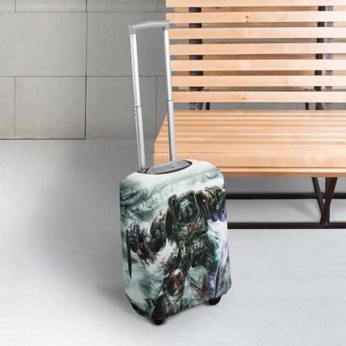 Чехол для чемодана 3D Терминатор Фото 01