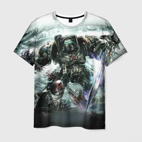 Мужская футболка 3D  Фото 03, Терминатор