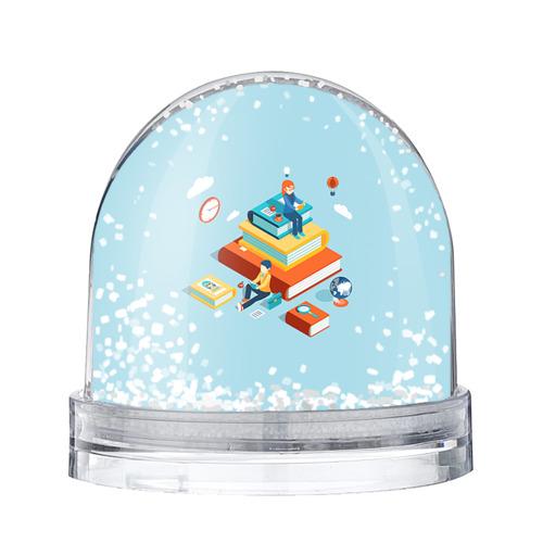 Водяной шар со снегом День студента