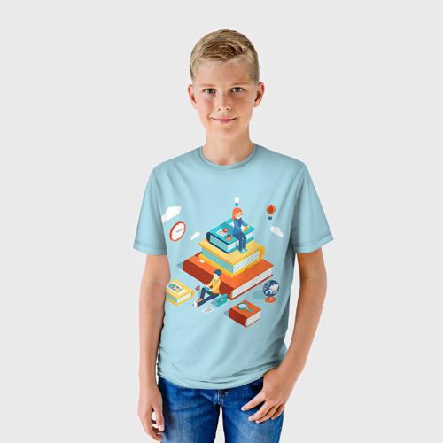 Детская футболка 3D  Фото 01, День студента