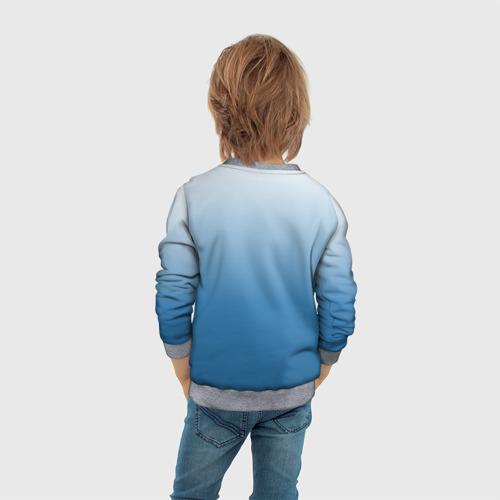 Детский свитшот 3D Умный студент Фото 01
