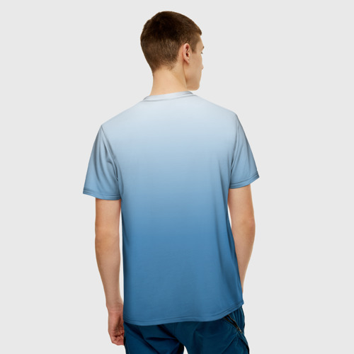 Мужская футболка 3D  Фото 02, Умный студент
