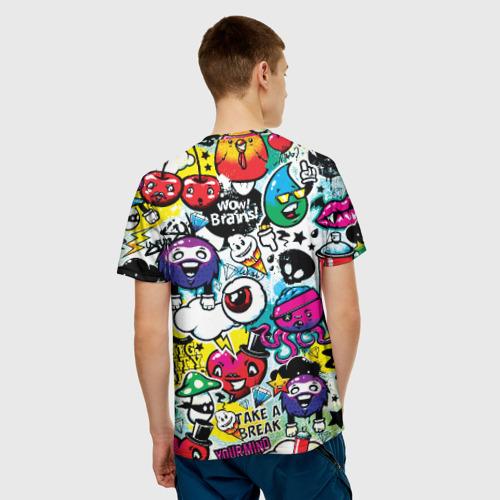 Мужская футболка 3D  Фото 02, Bombing