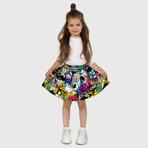 Детская юбка-солнце 3D  Фото 03, Bombing