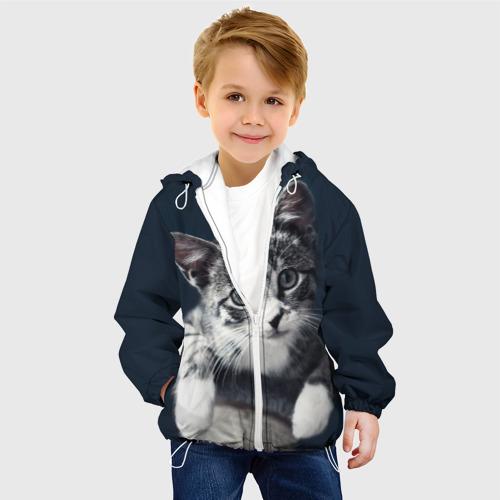Детская куртка 3D  Фото 03, Кот