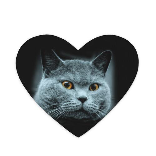 Коврик для мыши сердце  Фото 01, Кот