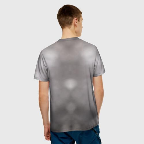 Мужская футболка 3D  Фото 02,  Кот