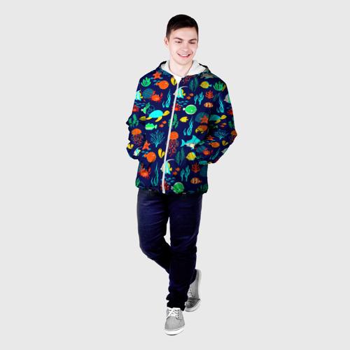 Мужская куртка 3D  Фото 03, Аква мир