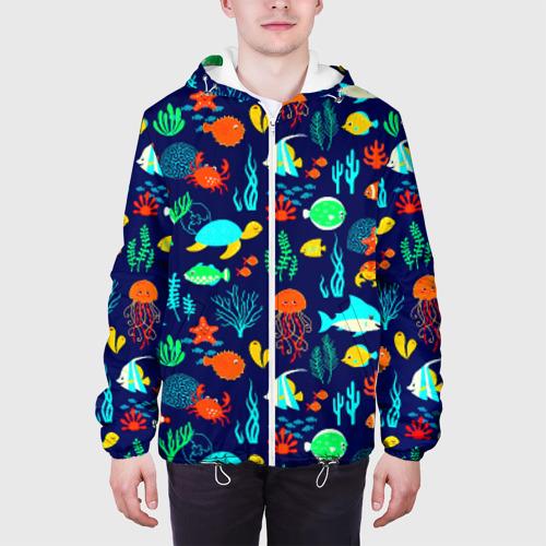 Мужская куртка 3D  Фото 04, Аква мир
